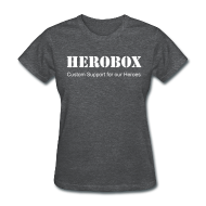 Women's T-Shirts ~ Women's T-Shirt ~ Hero Heather