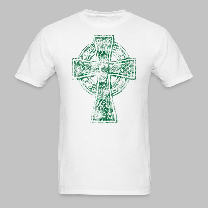 Irish Celtic Cross - Men's T-Shirt