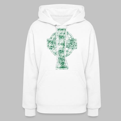 Irish Celtic Cross - Women's Hoodie