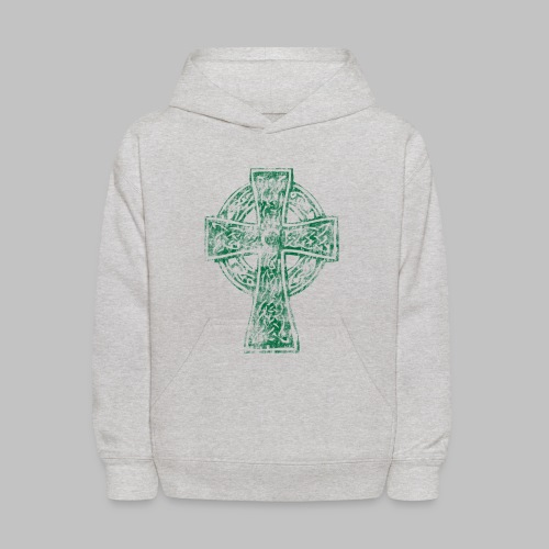 Irish Celtic Cross - Kids' Hoodie