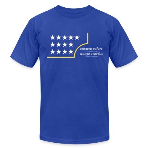 the Upper Left - Men's  Jersey T-Shirt