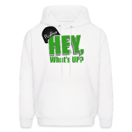 Hoodies ~ Men's Hoodie ~ Mens Hoodie Hey, What's up?