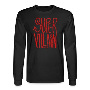 super villain - Men's Long Sleeve T-Shirt