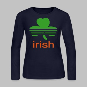 Irish Athletic Look - Women's Long Sleeve Jersey T-Shirt
