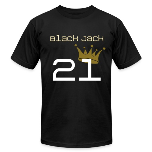 [2NE1] Black Jack - Men's Fine Jersey T-Shirt