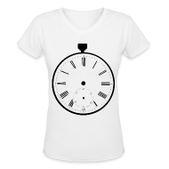 Women's T-Shirts ~ Women's V-Neck T-Shirt ~ [SHINee] Taemin Pocket Watch