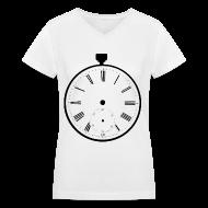 Women's T-Shirts ~ Women's V-Neck T-Shirt ~ [SHINee] Taemin Pocket Watch