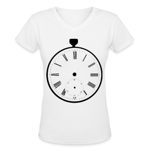[SHINee] Taemin Pocket Watch - Women's V-Neck T-Shirt