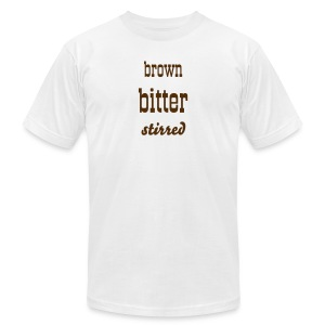 Brown Bitter Stirred Men's Tee - Men's T-Shirt by American Apparel