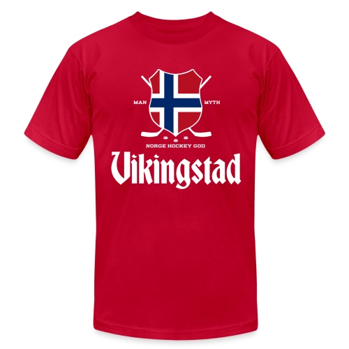 Vikingstad - Men's T-Shirt by American Apparel