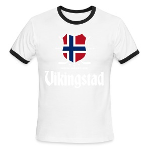 Vikingstad - Men's Ringer T-Shirt