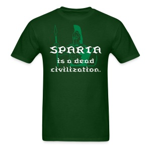 Sparta is a dead civilization. - Men's T-Shirt