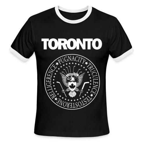 Grabbo Grabbo Hey - Men's Ringer T-Shirt