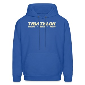 Triathlon Sleek Design Men's Hoodie - Men's Hoodie