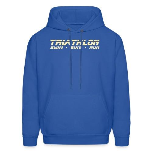 Triathlon Sleek Design Men's Hoodie - Men's Hoodie