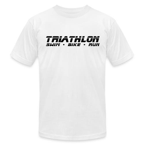 Triathlon Sleek Design Men's AA Tee - Men's Fine Jersey T-Shirt