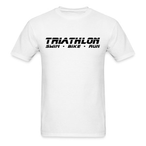 Triathlon Sleek Design Men's Standard Weight T-Shirt - Men's T-Shirt