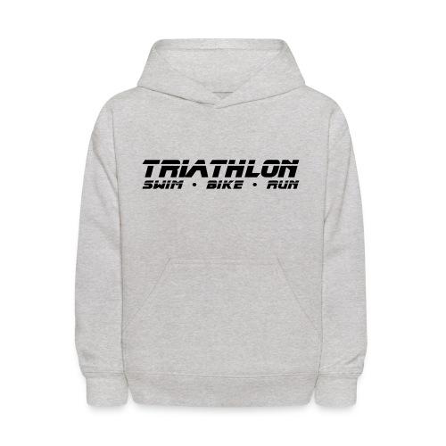 Triathlon Sleek Design Children's Hoodie - Kids' Hoodie