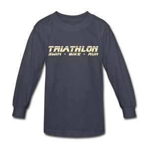 Triathlon Sleek Design Children's Long Sleeve T-Shirt - Kids' Long Sleeve T-Shirt