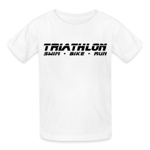 Triathlon Sleek Design Children's T-Shirt - Kids' T-Shirt