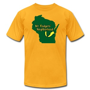Mr. Rodgers' Neighborhood - Men's T-Shirt by American Apparel
