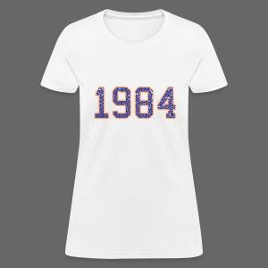 1984 Women's Standard Weight T-Shirt - Women's T-Shirt