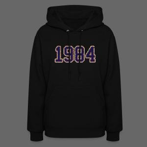 1984 Women's Hooded Sweatshirt - Women's Hoodie
