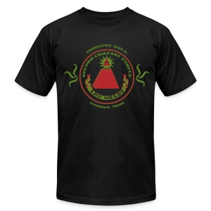ATCQ | Industry Rule Number 4080 (slim fit) - Men's T-Shirt by American Apparel