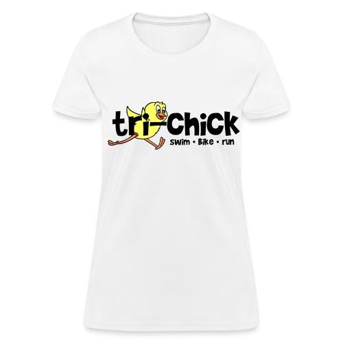 Tri-Chick Women's Standard Weight T-Shirt - Women's T-Shirt
