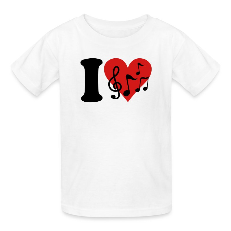 i love music notes t shirt spreadshirt