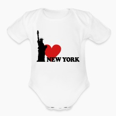 I LOVE NEW YORK Baby Bodysuits