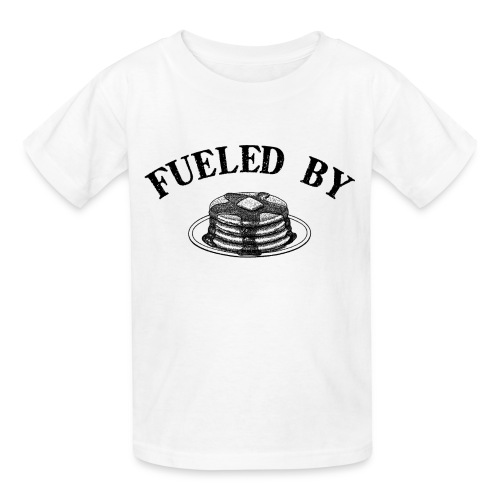 Fueled By Pancakes Children's T-Shirt - Kids' T-Shirt