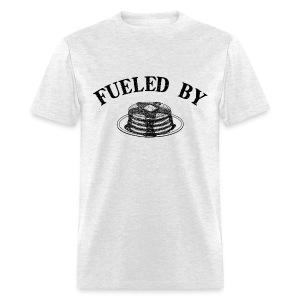 Fueled By Pancakes Men's Standard Weight T-Shirt - Men's T-Shirt