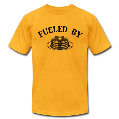 Fueled By Pancakes Men's AA Tee - Men's Fine Jersey T-Shirt