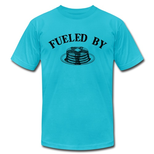 Fueled By Pancakes Men's AA Tee - Men's Fine Jersey T-Shirt