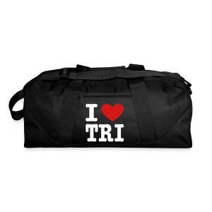 I Heart Tri Duffel Bag - Duffel Bag