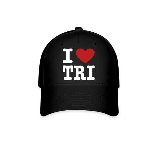 I Heart Tri Baseball Cap - Baseball Cap