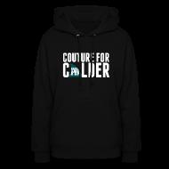 Hoodies ~ Women's Hoodie ~ Couture For Calder Women's Black Hoodie