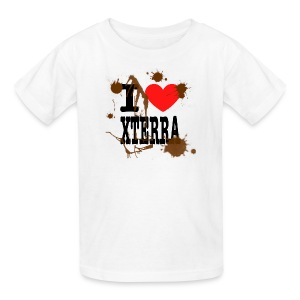I Heart Xterra Muddy Design Kid's T-Shirt - Kids' T-Shirt