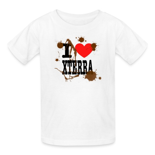 I Heart Xterra Muddy Design Kid's T-Shirt - Kids' T-Shirt