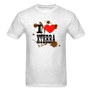 I Heart Xterra Muddy Design Men's Standard Weight T-Shirt - Men's T-Shirt
