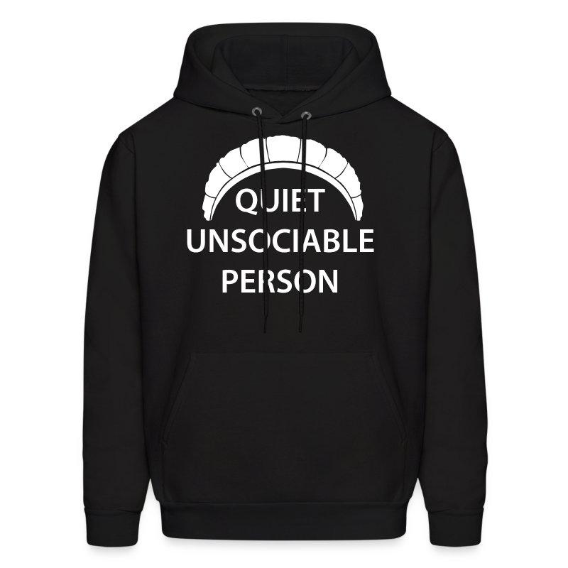 Quiet Unsociable Hoodie - Men's Hoodie