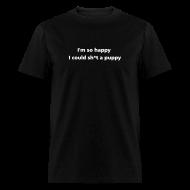 T-Shirts ~ Men's T-Shirt ~ MENS SIMPLE: Sh*t a puppy