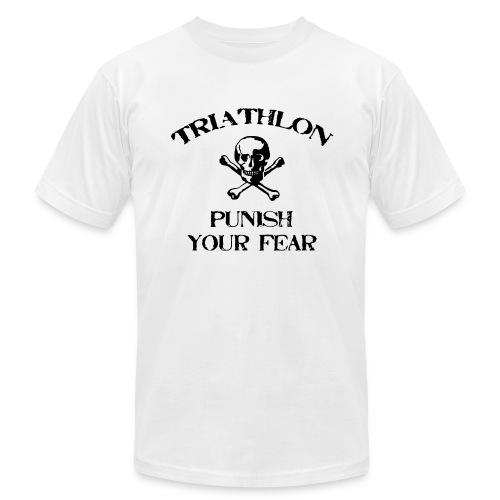 Triathlon - Punish Your Fear Men's AA Tee - Men's Fine Jersey T-Shirt