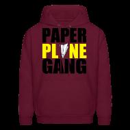 Hoodies ~ Men's Hoodie ~ Paper Plane Gang