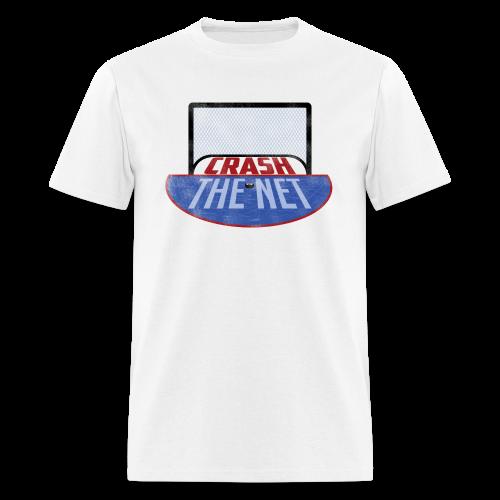 Crash The Net White T-Shirt - Men's T-Shirt
