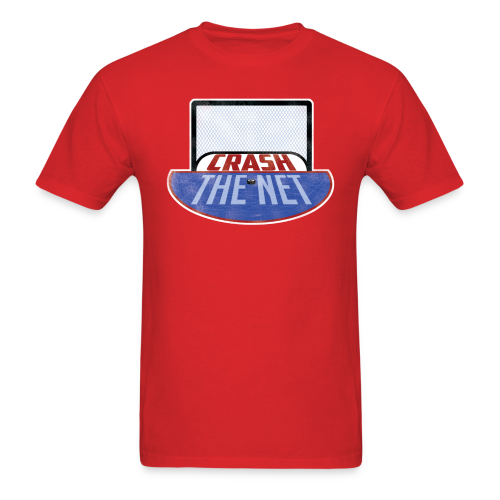 Crash The Net Red T-Shirt - Men's T-Shirt
