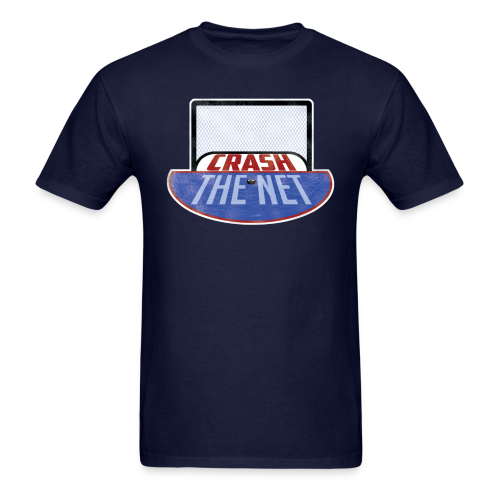 Crash The Net Navy T-Shirt - Men's T-Shirt