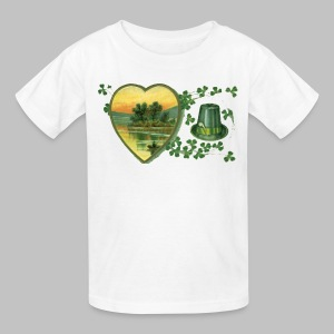Ireland Postcard - Kids' T-Shirt