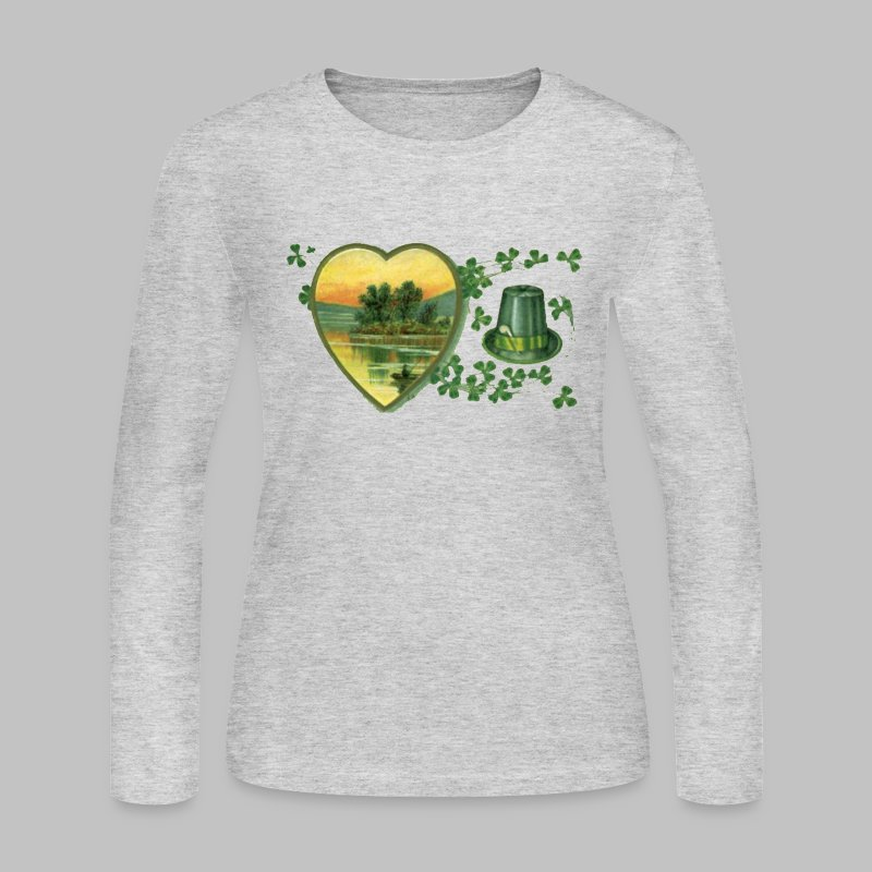 Ireland Postcard - Women's Long Sleeve Jersey T-Shirt
